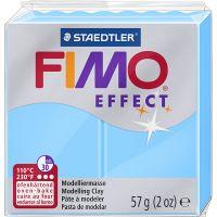 FIMO® Effect , neon blå, 57 g/ 1 pk.