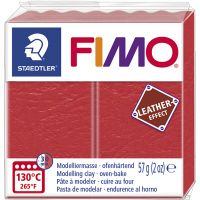 FIMO® Lær effekt, watermelon (249), 57 g/ 1 pk.