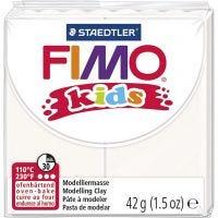 FIMO® Kids leire, hvit, 42 g/ 1 pk.