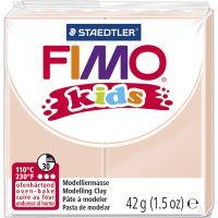 FIMO® Kids leire, lys pulver, 42 g/ 1 pk.