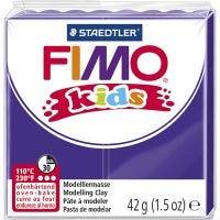 FIMO® Kids leire, lilla, 42 g/ 1 pk.
