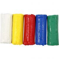 Soft Clay Modellervoks, H: 9,5 cm, ass. farger, 400 g/ 1 spann