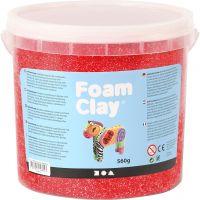 Foam Clay® , rød, 560 g/ 1 spann