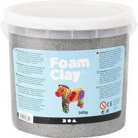Foam Clay® , metallisk, sølv, 560 g/ 1 spann