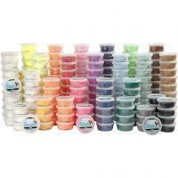 Foam Clay® , ass. farger, 22x10 boks/ 1 pk.