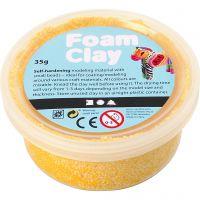 Foam Clay® , gul, 35 g/ 1 boks