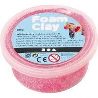 Foam Clay® , neon pink, 35 g/ 1 boks
