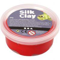 Silk Clay®, rød, 40 g/ 1 boks
