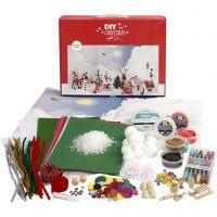Materialsett til julelandskap, 1 sett