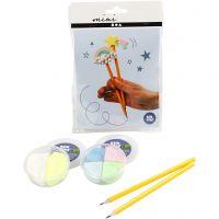 Mini kreative sett, blyanter, 1 sett