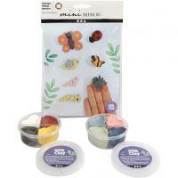 Mini kreative sett, insekter, 1 sett