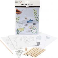 Kreativt Minikit, Fiskespill, 1 sett