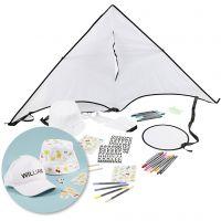 Kreativ-pakke-Tekstildekorasjon, 1 sett
