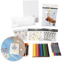 Kreativ-pakke - Skolestart, 1 sett