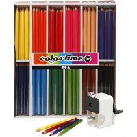 Colortime fargeblyanter, mine 5 mm, ass. farger, 1 sett