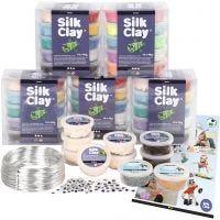Klassesett til figurer med Silk Clay®, 1 sett