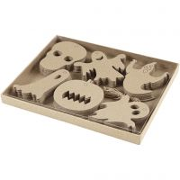 Halloweenoppheng, str. 7-10 cm, 6x10 stk./ 1 pk.