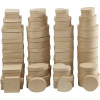 Esker, H: 5-7,5 cm, dia. 10-18 cm, 72 stk./ 1 kasse