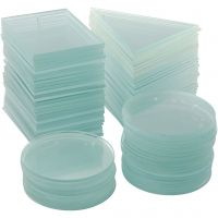 Glassplate, tykkelse 3 mm, 3x30 stk./ 1 kasse