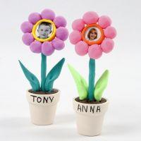 Foto av barn i blomster av Silk Clay