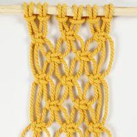 Sådan knytter du fladknob som to halvknob (Alternating Square Knot)