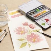 Akvarell for nybegynnere: Lær å male med akvarell