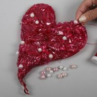 Hjerte av cellofan