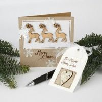 Kort med reinsdyr