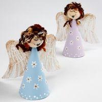Engel på pappkjegle