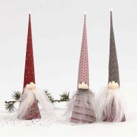 Kjeglenisser av Vivi Gade Design papir og Silk Clay