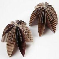 Blomst av origamipapir