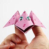 Origami fugl