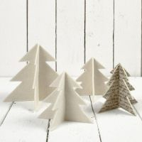 Filt juletrær