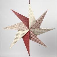 Origami stjerne av håndlaget papir