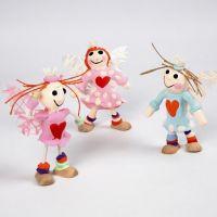 Engel av Flexi-fig figur med Silk Clay