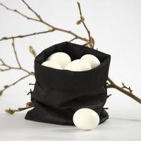 Pose til egg - sydd av imitert stoff