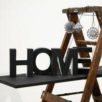 'Home' - malte bokstaver av papp