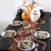 Borddekking til Halloween