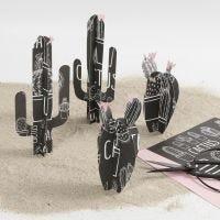 Kaktus av designpapir fra Vivi Gade