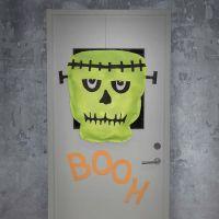 Frankensteins monster i imiteret stoff