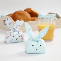 Sydd Kaniner til pynt eller lek med plasthaggel-fyll