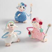 Alfer modellert av Silk Clay og Foam Clay