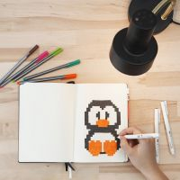 Pixel art i bullet journal