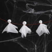 Spøkelser av silkepapir og rulleøyne