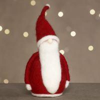 Julemann av nålefilt på isopor