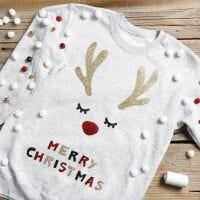 Morsom julegenser med bjelleklang
